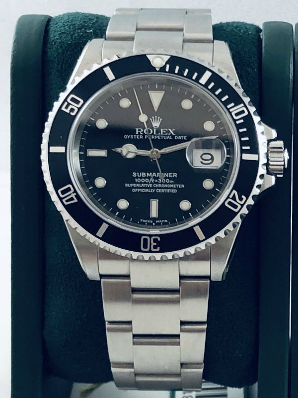 rolex-submariner-date-16610-ser y-nos-acciaio-scatola e garanzia
