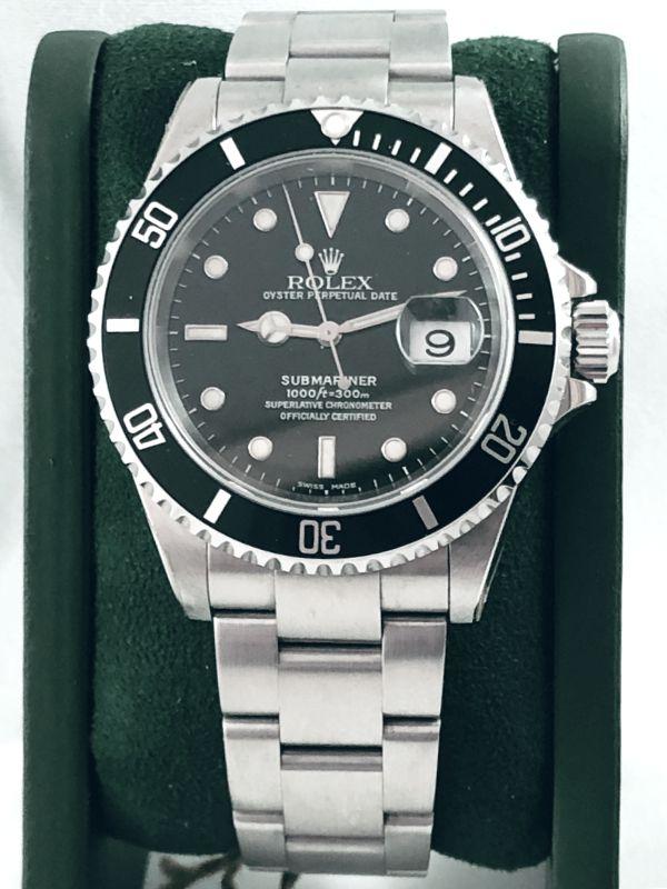 rolex-submariner-date-16610-nos-acciaio-minuti preziosi