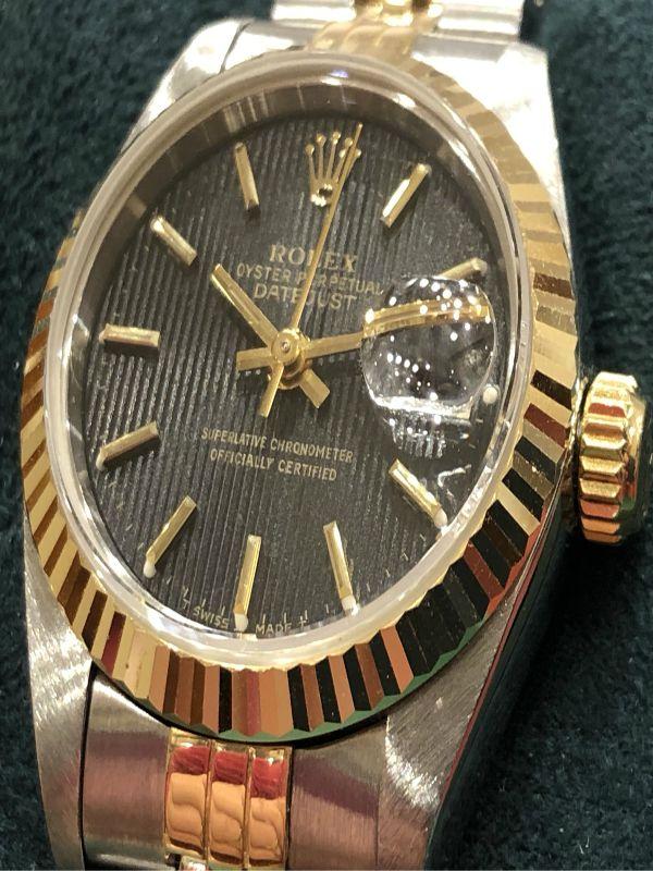 Rolex-lady-acciaio e oro-orologi-minuti preziosi